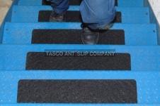 Antislip tape aluminium rug 150mm x 610mm - 3 Kleuren (10 pak)