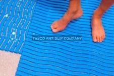 Antislip mat voor vochtige ruimtes