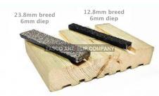 Invoegstrips (houten en betonnen ondergronden)